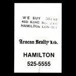 Canada, Arocan Realty Ltd., no denomination <br /> 1979