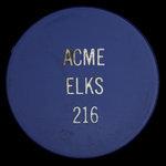 Canada, Elks ( B.P.O.E.) Lodge No. 216, no denomination <br />