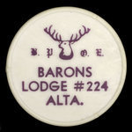Canada, Elks ( B.P.O.E.) Lodge No. 224, no denomination <br />
