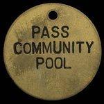 Canada, Pass Community Pool, no denomination <br />
