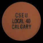 Canada, Calgary Schoolboard Employees Union (C.S.E.U.) Local 40, no denomination <br />