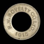 Canada, North Western Novelty Co. Ltd., 5 cents <br /> 1915