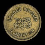 Canada, Leader Novelty, no denomination <br /> 1922