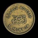Canada, Leader Novelty, no denomination <br /> 1922
