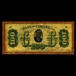 Canada, Carling Breweries, no denomination <br /> January 2, 1840