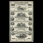Canada, Commercial Bank of Windsor, 4 dollars <br /> July 1, 1871