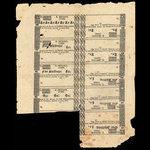 Canada, E. Benson, 1 shilling <br /> 1815