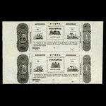 Canada, William Stewart, 6 pence <br /> 1838