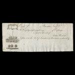 Canada, Saunders & Sweetman, no denomination <br /> 1808