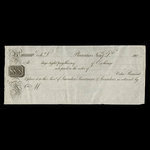 Canada, Saunders, Sweetman & Saunders, no denomination <br /> 1809