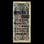 Canada, Walter C. Leary, no denomination <br /> 1887