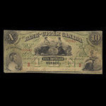 Canada, Bank of Upper Canada (York), 10 dollars <br /> July 6, 1859