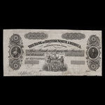 Canada, Bank of British North America, 1 dollar <br /> September 8, 1853