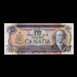 Canada, Bank of Canada, 10 dollars <br /> 1971