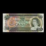 Canada, Bank of Canada, 20 dollars <br /> 1969