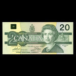 Canada, Bank of Canada, 20 dollars <br /> 1991