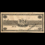 Canada, Bank of British North America, 9 dollars <br /> 1838