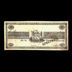 Canada, Bank of British North America, 7 dollars <br /> 1838