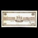 Canada, Bank of British North America, 5 dollars <br /> 1837
