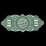 Canada, Dominion Bank, 10 dollars <br /> May 1, 1871