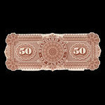 Canada, Standard Bank of Canada, 50 dollars <br /> July 1, 1881