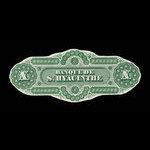 Canada, Banque de St. Hyacinthe, 10 dollars <br /> January 2, 1874