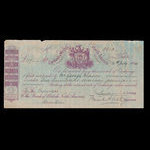 Canada, Bank of British North America, 117 pounds <br /> July 14, 1884