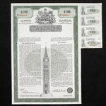 Canada, Government of Canada, 100 dollars <br /> September 15, 1966
