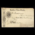 Canada, S & W, 1 pound <br /> 1820