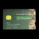 Canada, Caisses Populaires Desjardins, no denomination <br /> August 2002