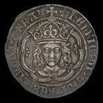 England, Henry VII, 1 groat <br /> 1505