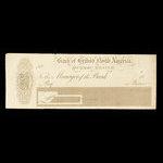 Canada, Bank of British North America, no denomination <br /> 1858