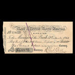 Canada, Bank of British North America, 6,000 dollars <br /> March 10, 1868