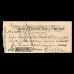 Canada, Bank of British North America, 6,000 dollars <br /> March 10, 1868