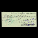 Canada, Bank of British North America, 10 dollars <br /> June 15, 1899