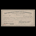 Canada, Canadian Bank of Commerce, 85 pounds <br /> June 2, 1891