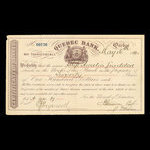 Canada, Quebec Bank, 2,000 dollars <br /> May 16, 1874