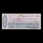 Canada, Merchants Bank of Canada (The), 1 dollar, 60 cents <br /> March 10, 1882
