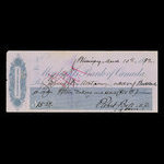 Canada, Merchants Bank of Canada (The), 15 dollars, 98 cents <br /> March 10, 1882