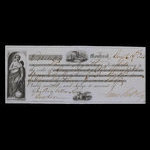 Canada, Bank of Montreal, 73 pounds, 1 shilling, 11 pence <br /> August 19, 1853