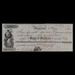 Canada, Bank of Montreal, 213 dollars <br /> May 8, 1860