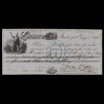 Canada, Bank of Montreal, 58 pounds, 13 shillings <br /> August 28, 1855