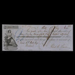 Canada, Bank of Montreal, 1,800 dollars <br /> February 6, 1863