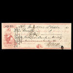 Canada, Bank of Montreal, 419 dollars, 84 cents <br /> October 13, 1860