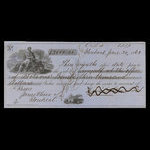 Canada, Bank of Montreal, 3,000 dollars <br /> June 30, 1862