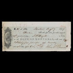 Canada, Bank of Montreal, 35 pounds, 11 shillings, 3 pence <br /> August 9, 1859