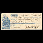 Canada, Bank of Montreal, 2,041 dollars, 93 cents <br /> June 8, 1863