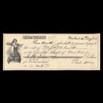 Canada, Bank of Montreal, 54 dollars <br /> January 22, 1863