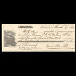 Canada, Bank of Montreal, 2,500 dollars <br /> March 19, 1862