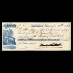Canada, Bank of Montreal, 3,500 dollars <br /> December 1, 1863
